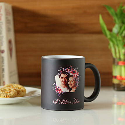 Online Miss You Personalised Magic Mug:Send Miss You Gifts