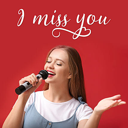 miss you song on video call by singer:Miss You Gifts
