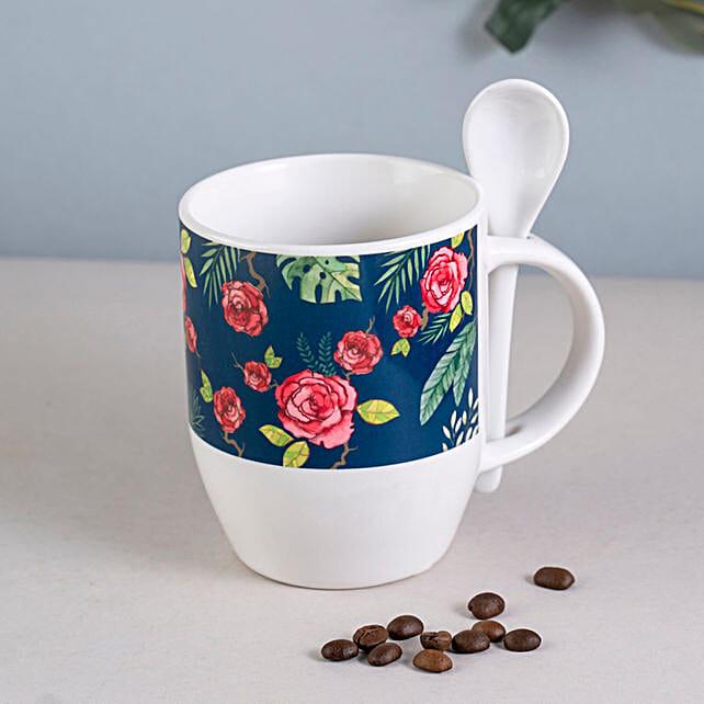 Rose Spoon Mug Online:Mug