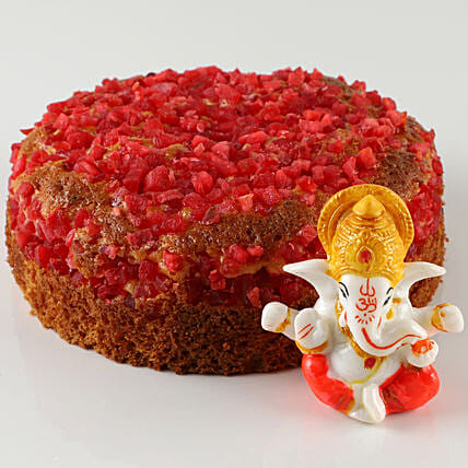 Mix Fruit Special Dry Cake & Lord Ganesha Idol