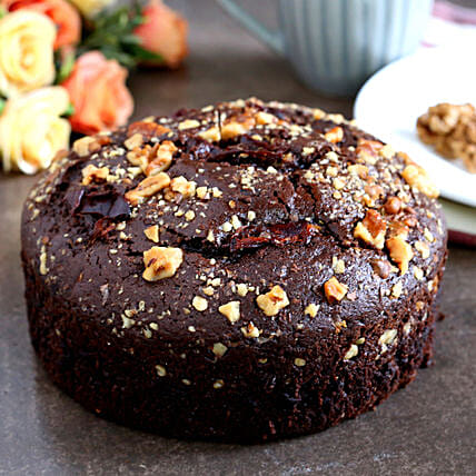Delicious Mixed Dates & Walnuts Dry Cake:Christmas Cakes