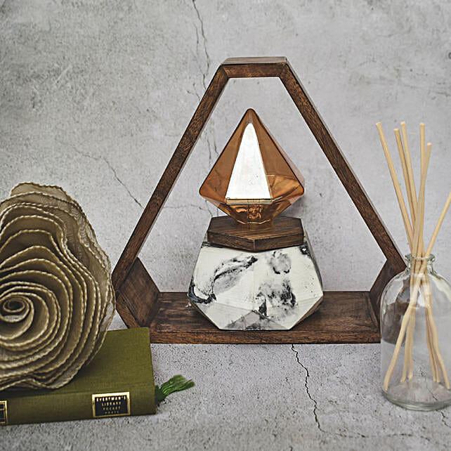 Modern Style Triwood Lamp