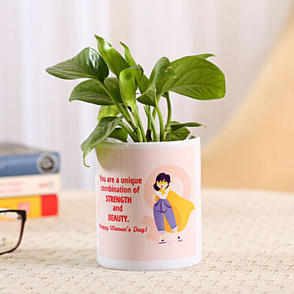 Online Money Plant For Women's Day