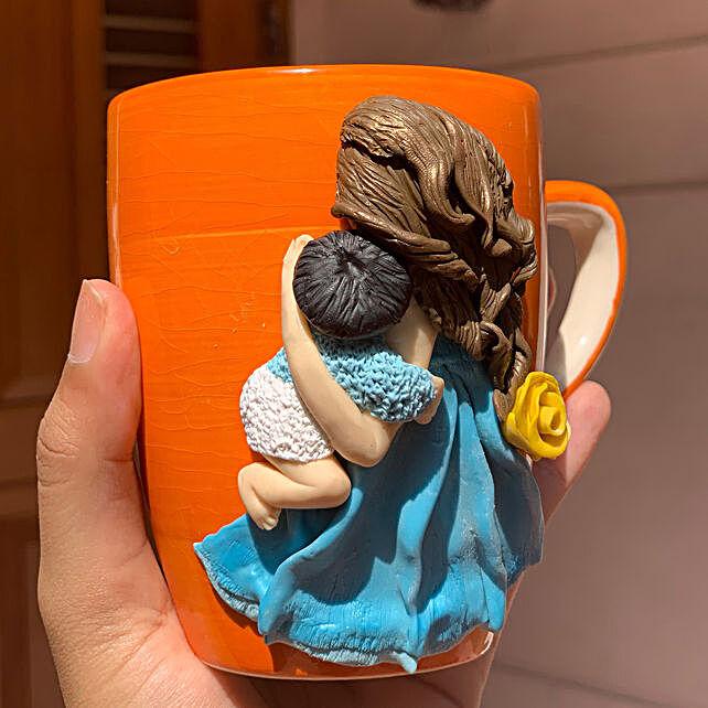Online Mother Child Mug