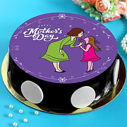 Mother's Day Special Chocolate Cake:Mothers Day Cake