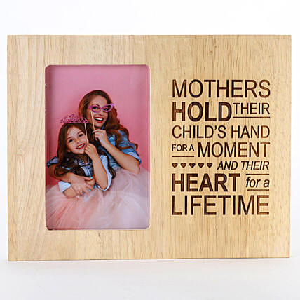 best wooden photo frame for mom