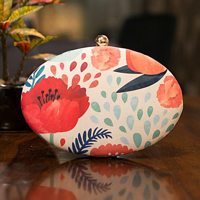 Multi Colour Customised Women Clutch Bag