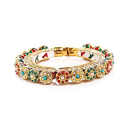 handcrafted bangle for her:Send Jewellery Gifts