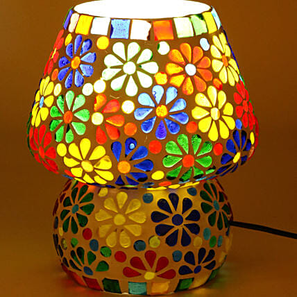Decorative Glass Table Lamp:Handicrafts