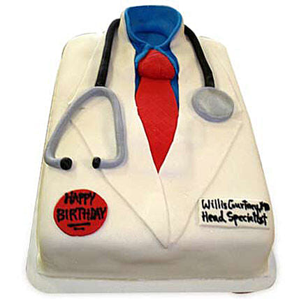 Mushy Doctor Cake 2kg:Send Doctors Day Cakes