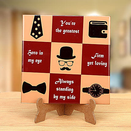 Great dad tabletop:Plaques
