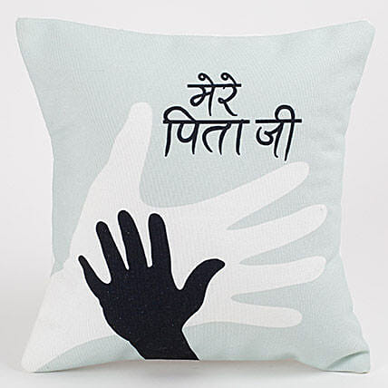 Lovely message printed cushion