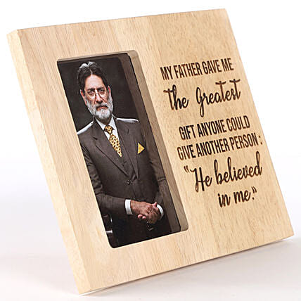 Customise Photo Frame for Grandfather
