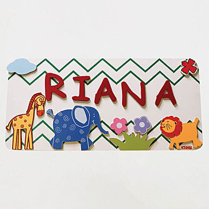 Name Plaque Medium- AnimalOnline:Personalised Name Plates