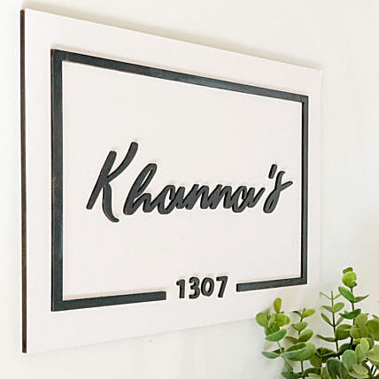 Beautiful Nameplate Online
