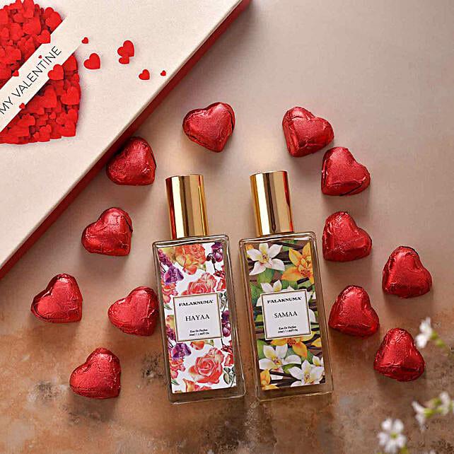 Mesmerising oil perfume hamper online