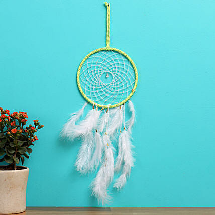 Neon Sun Spirit Dreamcatcher
