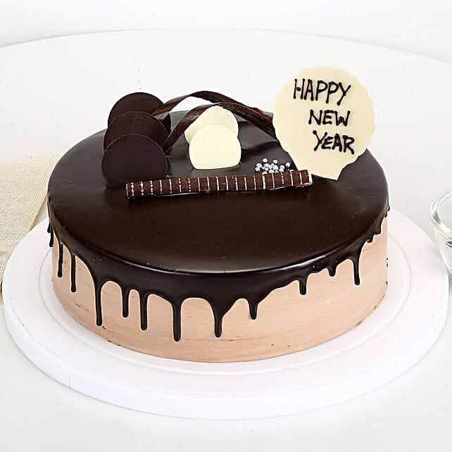New Year 2019 Chocolate Cake Half Kg