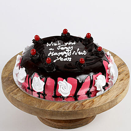Online cherry cake for new year