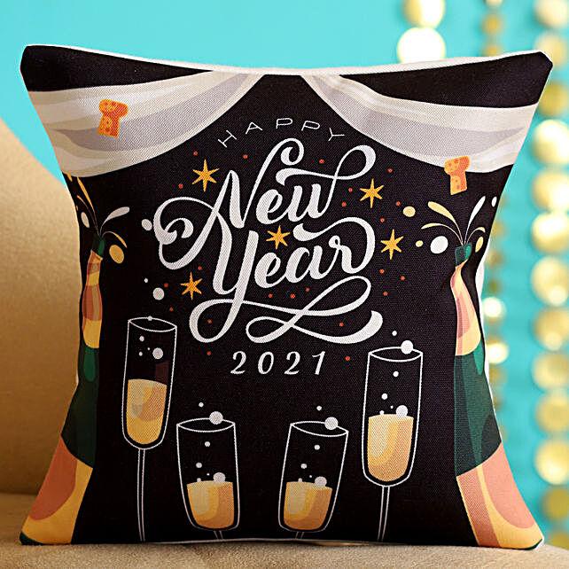 Cute New Year Cushion Online