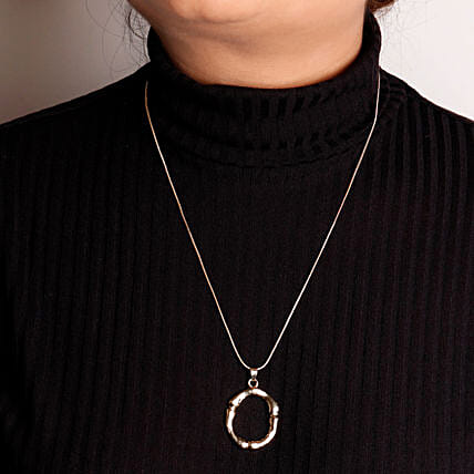O Initial Pendant Necklace