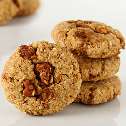 Oat Jaggery Healthy Cookies