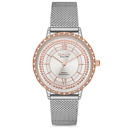 Sparkle Silver Watch Online