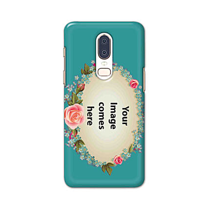 One Plus 6 Blue Mobile Cover Online