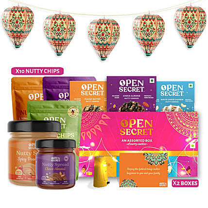 Open Secret Celebrations Gift Hamper:Buy Gourmet Gifts  in India