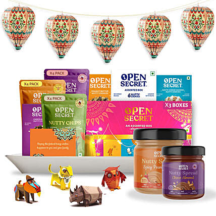 Open Secret Tasty Cookies Gift Hamper:Buy Gourmet Gifts  in India