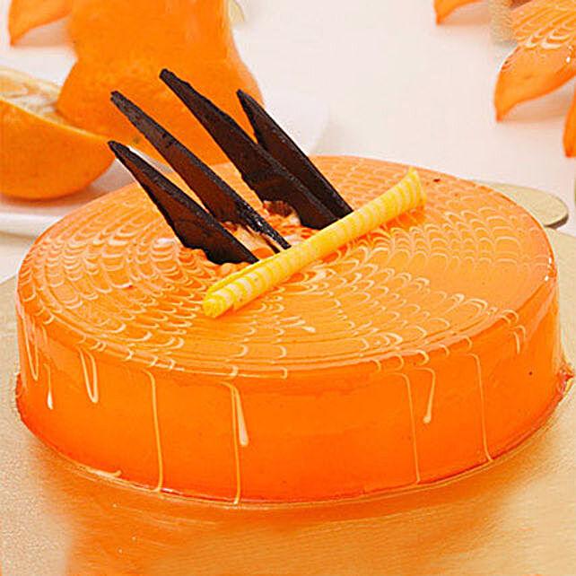 Orange Tangyliscious Cake 2KG Eggless