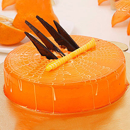 Orange Tangyliscious Cake