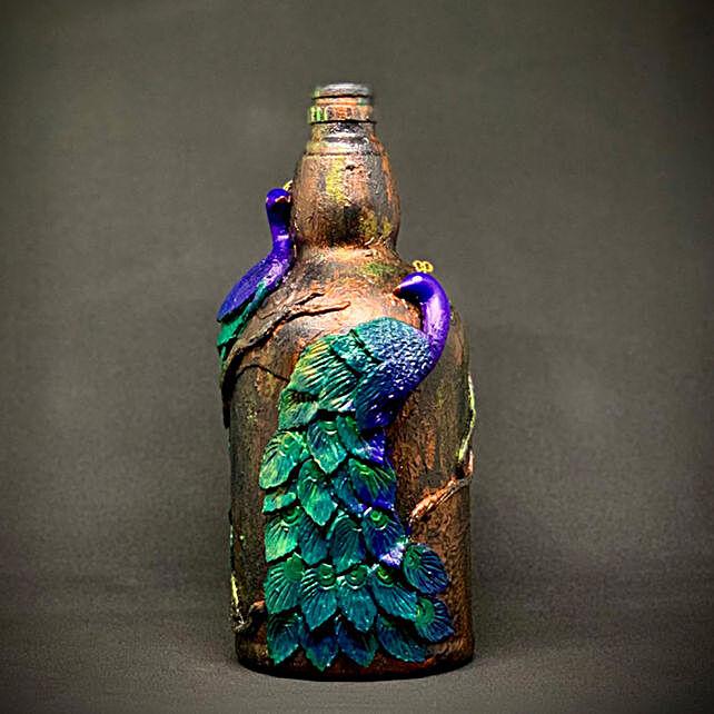 Online Peacock Bottle Vase