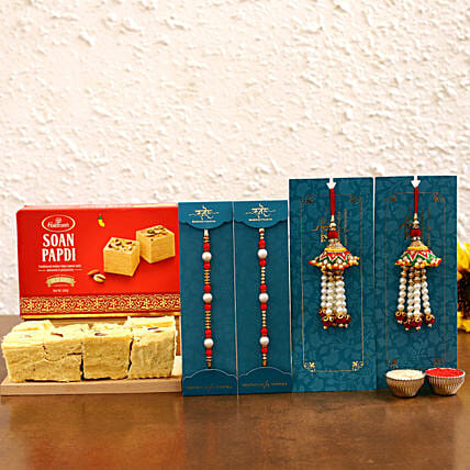 best bahiya bhabhi rakhi with sweet combo