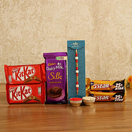 Online Rakhi And Chocolates