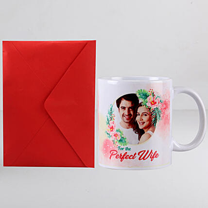 Perfect Wife Mug n Greeting Card