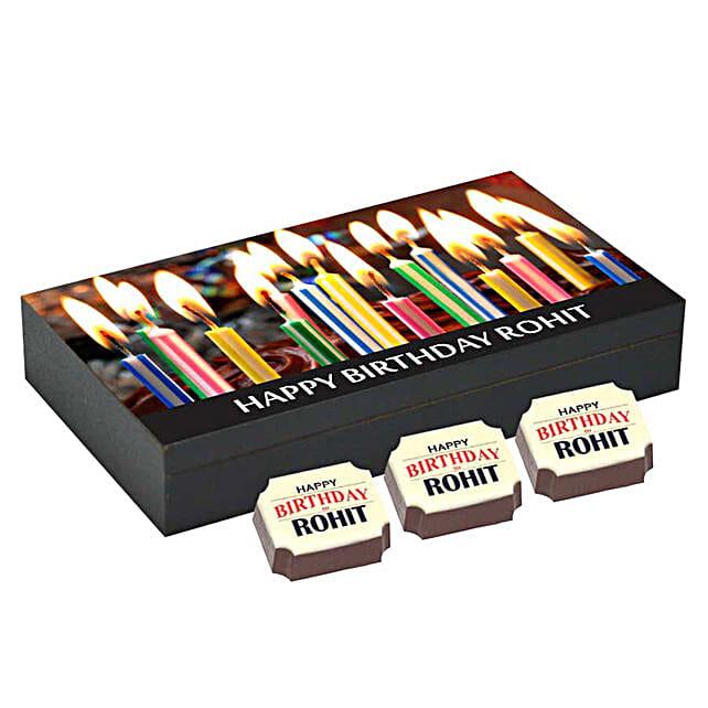 online personalised chocolate box