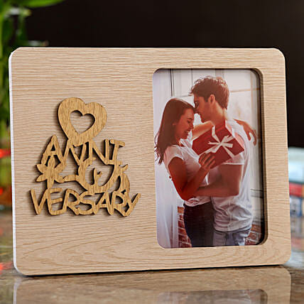Personalised Anniversary Photo Frame:Send Personalised Photo Frames for Anniversary
