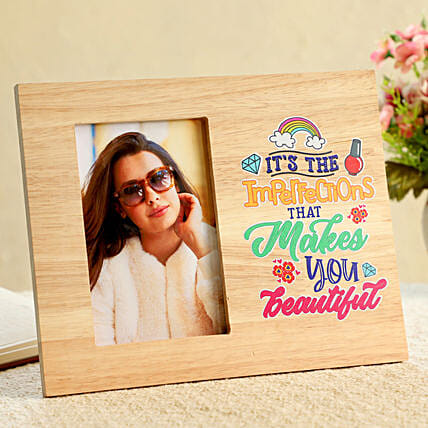 Photo and Text Printed Frame Online