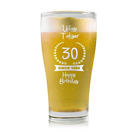 Beer Mug:Buy Personalised Beer Glasses