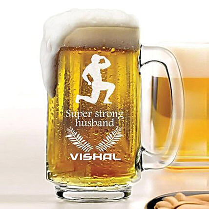 Beer Mug:Personalised Beer Glasses