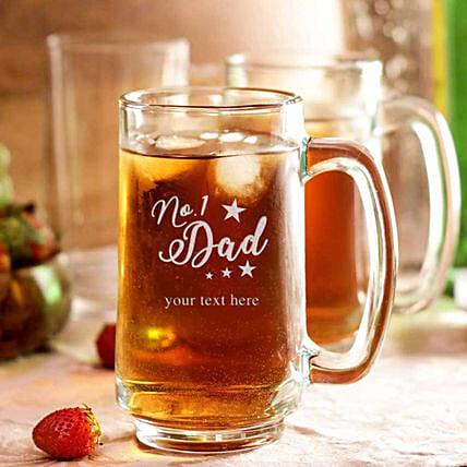online printed beer mug for dad