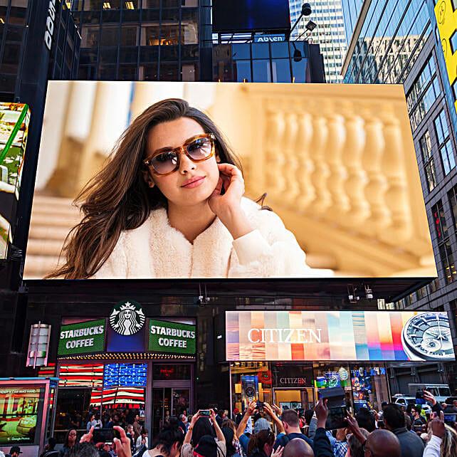 Digital Billboard Email Poster