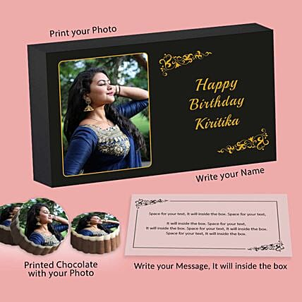 Customised birthday chocolates online