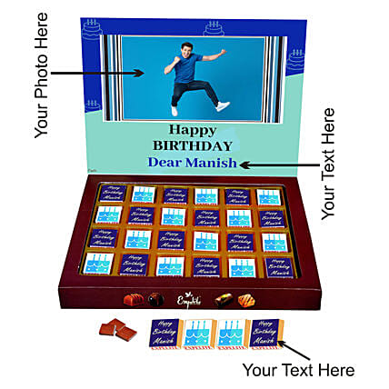 online best personalised chocolate for heim:Personalised Chocolates