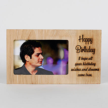 Customised engraved frame:Send Photo Frames