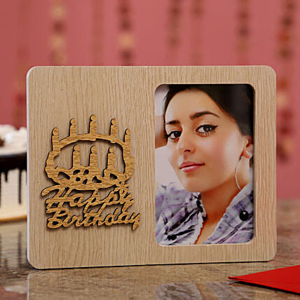 Personalised Birthday Wishes Photo Frame For Her