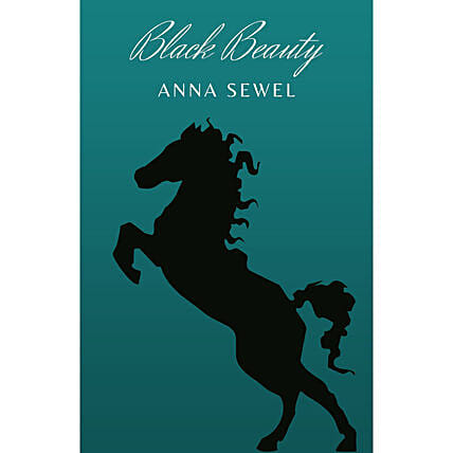 Customised Black Beauty E Book Card