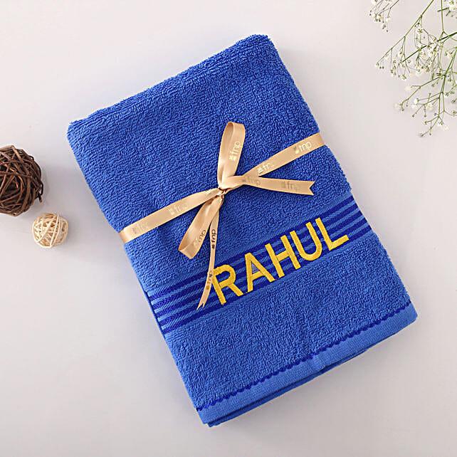 printed name towel online