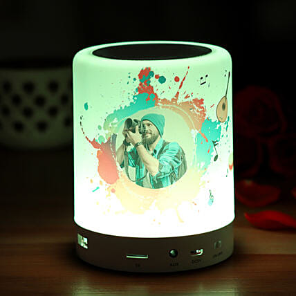 Personalised Bluetooth LED Speaker:Personalised Accessories